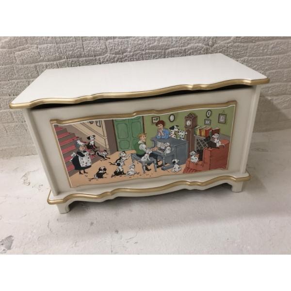101 Dalmations Handpainted Quality Toybox Vintage
