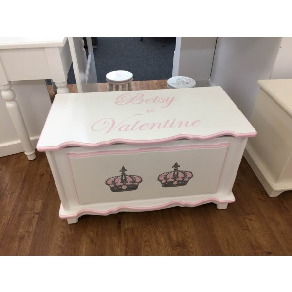 Toy Box Double Crown For Girls Or Boys