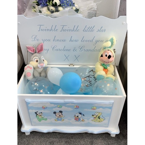 Baby M Mouse And Friends Personalized Toy box
