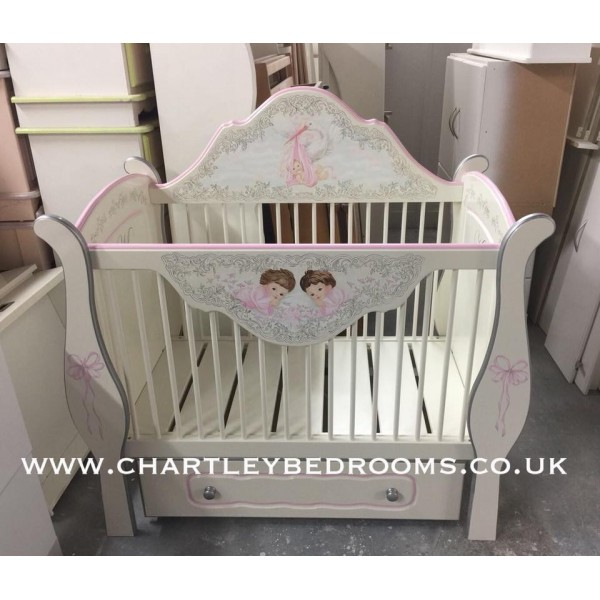Small Bespoke Detailed Artwork Special Cot