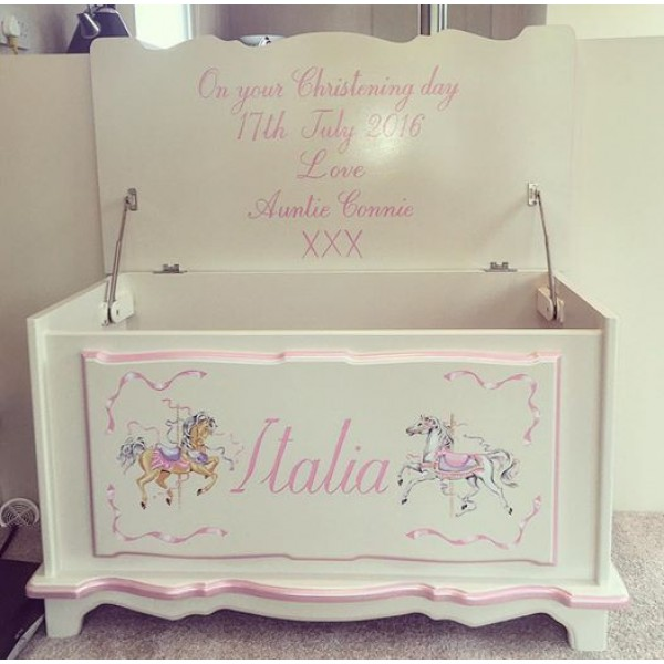 Personalised Toy Box Ideal Christening Gift