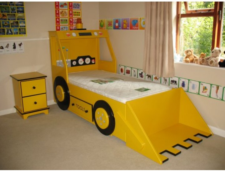 half off 18ed1 9ac99 Hand-made Bespoke Personalised Childrens Vehicle Beds Made ...
