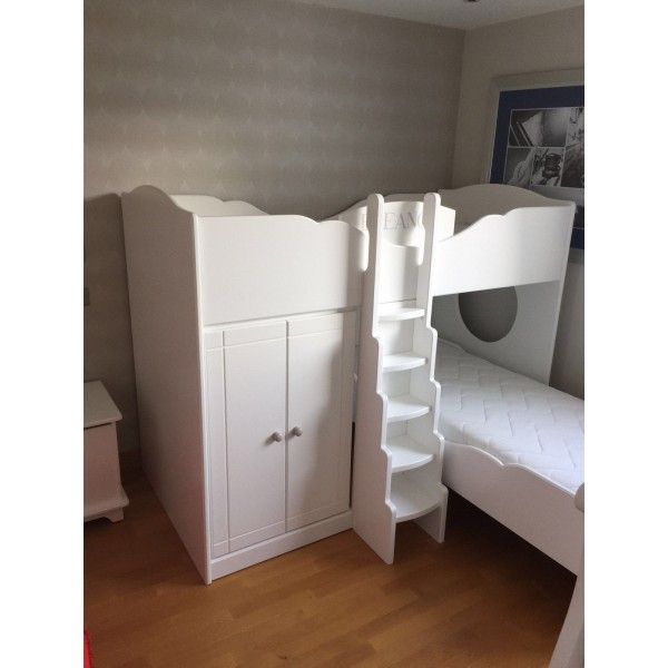 Play Bed OR Bunk Bed with GRADUATED LADDER
