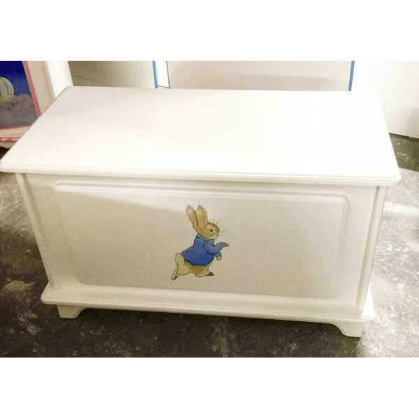 Toy Box 3ft With Single Peter Rabbit