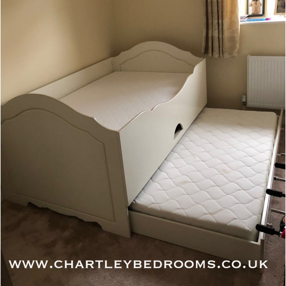 Double Cabin Bed Inc 3rd Pull Out Bed Under