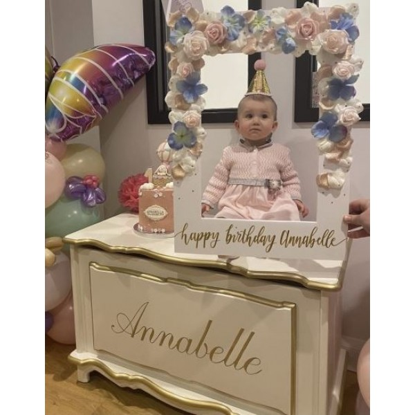 Annabelle Hand Painted Personalised Toybox