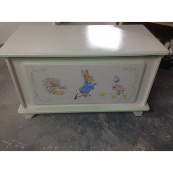 Personalised Peter Rabbit 3ft Toy Box
