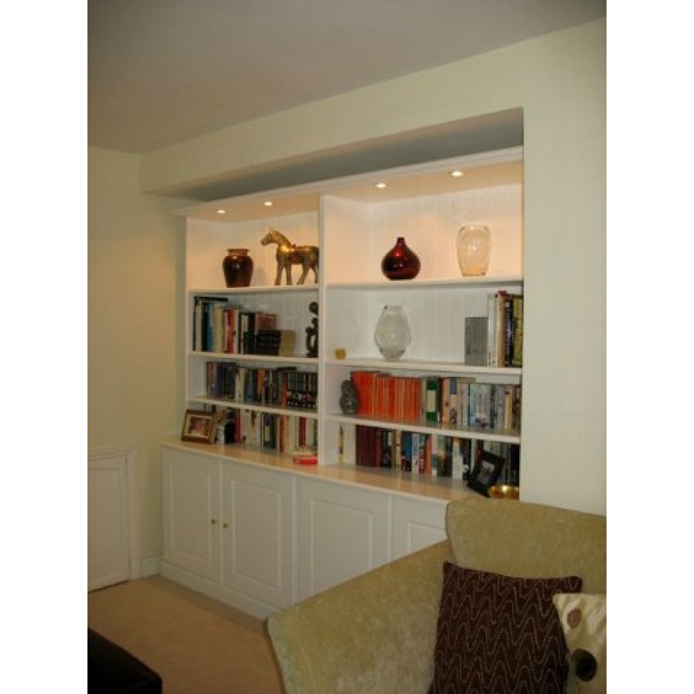 bookcase made to measure