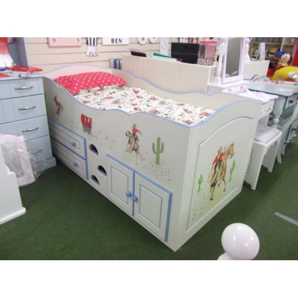 Cabin Bed Cath Kidston Cowboys Design