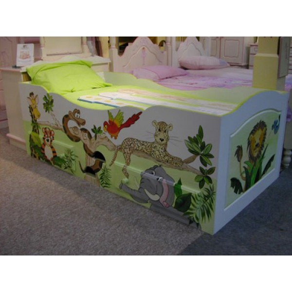 Cabin Bed Lower - Landscape Art
