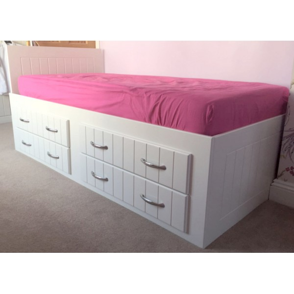 New Lower Cabin Bed With Drawers For Teenagers