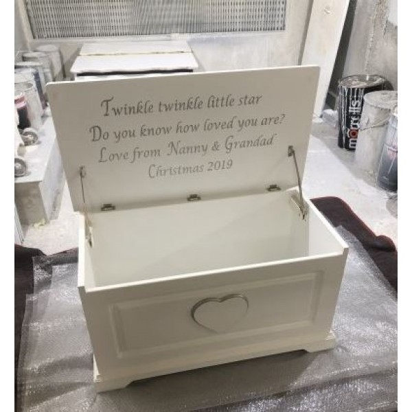 Chester Style Heart Toybox With Optional Message