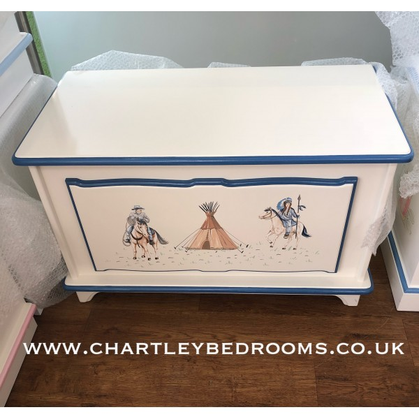 Cowboy And Indian Toybox 3ft