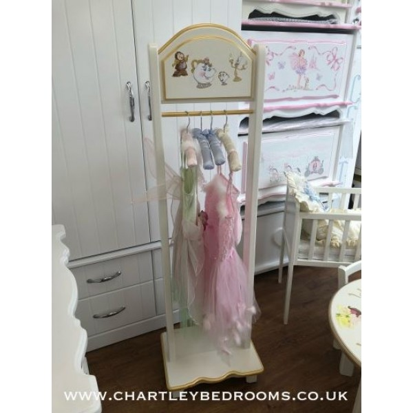 Beauty And The Beast Dressing Up Clothes Rail
