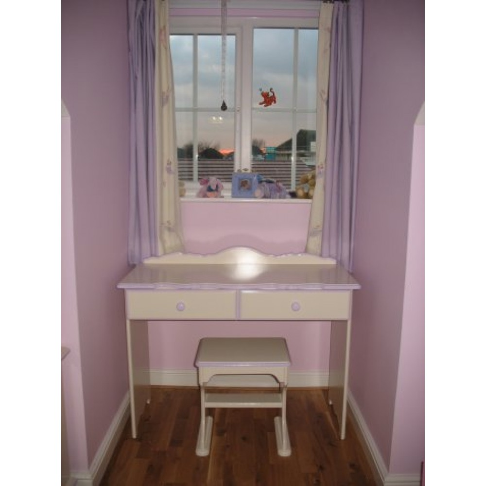 Dressing table made for alcove inc stool for Made dressing table