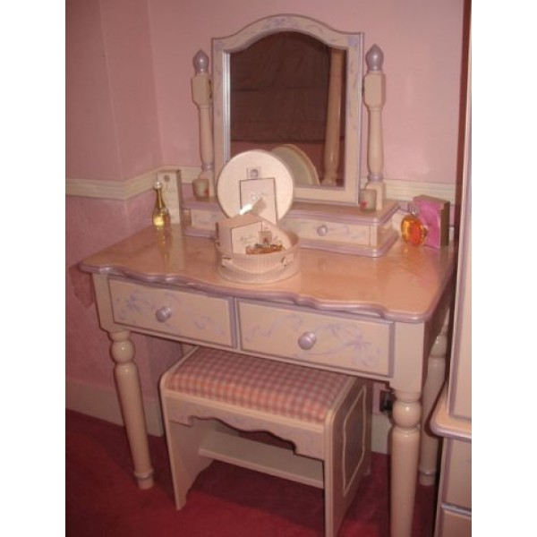 Dressing Table 4 Legs Solid Hearts