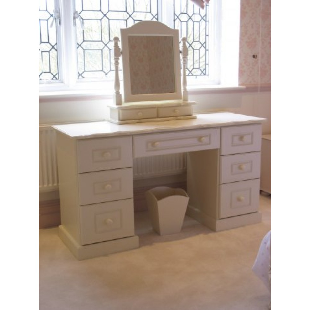 Girls Dressing Table Amp Mirror Off White