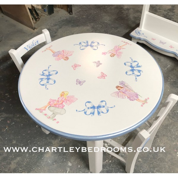 Fairy Toddler Table With Chairs