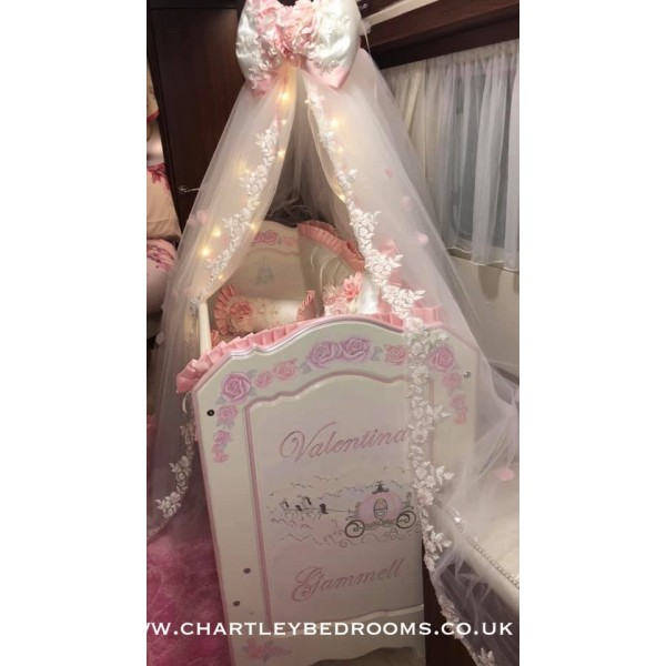 Miniature Cot Made To Fit In A Caravan