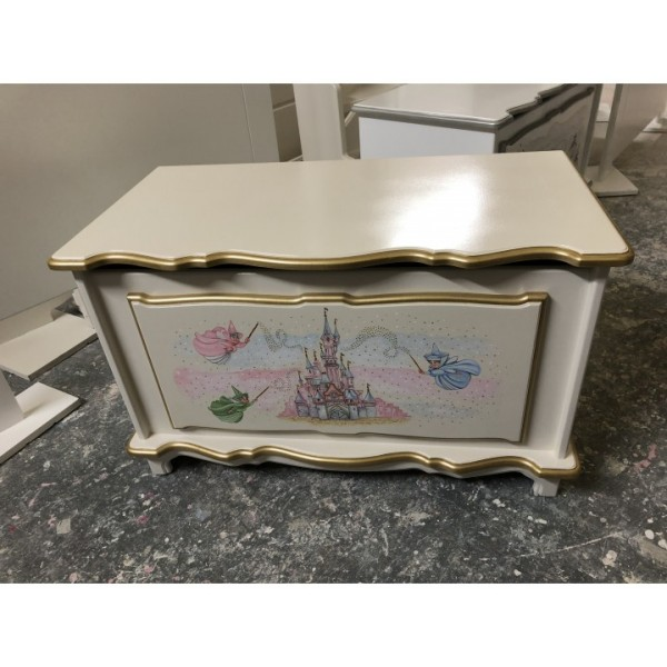 Fairy God Mother Castle Toy Box Personalised