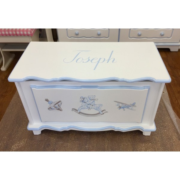 Personalised 3ft Old Fashioned Toys Toy Box