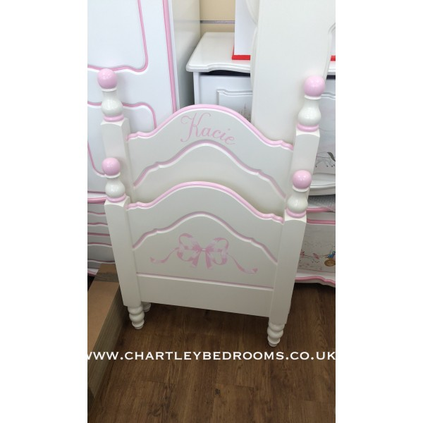 Reduced Size Princess Bed For a Small Room Or Caravan