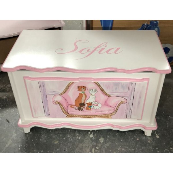 Marie The Cat 3ft Personalised Toybox