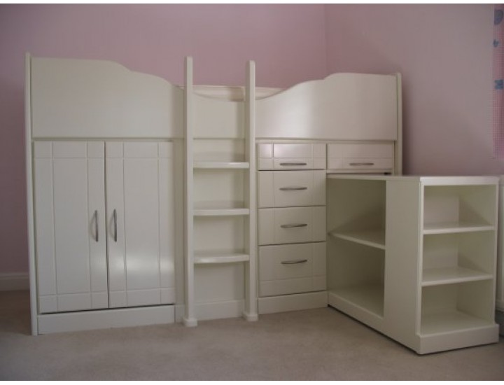 High Cabin Beds Bespoke Cabin Beds Childrens Cabin