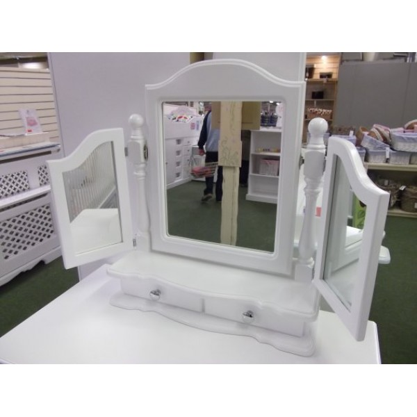 Triple Dressing Table Mirror Hand Made