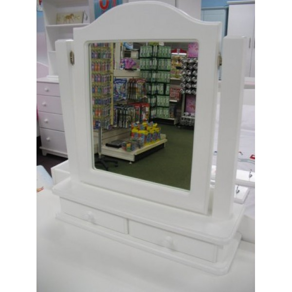 Dressing Table Mirror P&S With Drawers