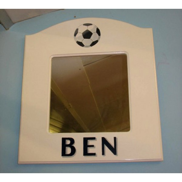 Football Mirror With Name
