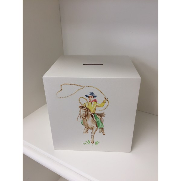 Money Box - Hand Painted With Any Design