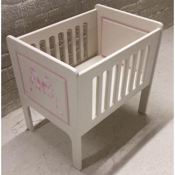 Dolls Cot Made In A Miniature Size