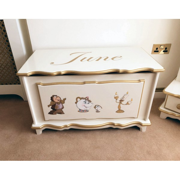 3ft Mrs Potts & Friends Toybox + Name SPECIAL OFFER!
