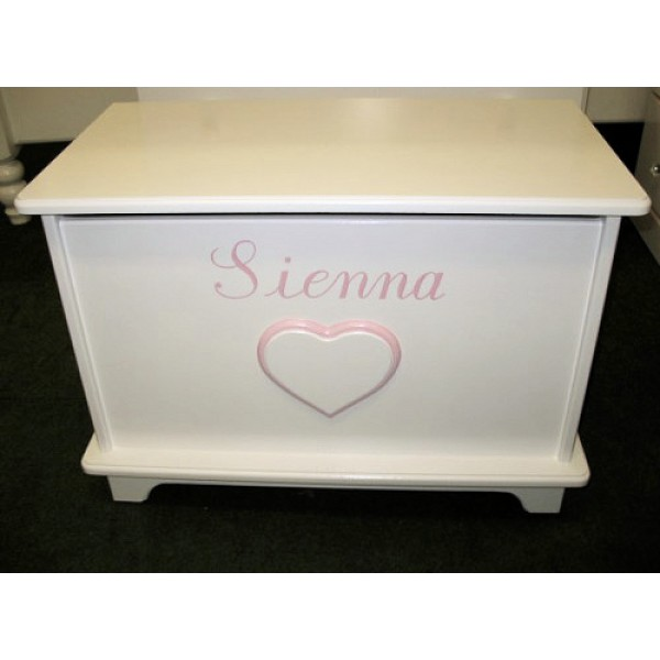 2ft Personalised Toy Box Plain & Simple