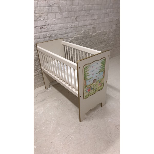 Peter Rabbit And Friends Hand Painted Crib