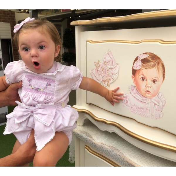 Portrait Personalised Toy Box
