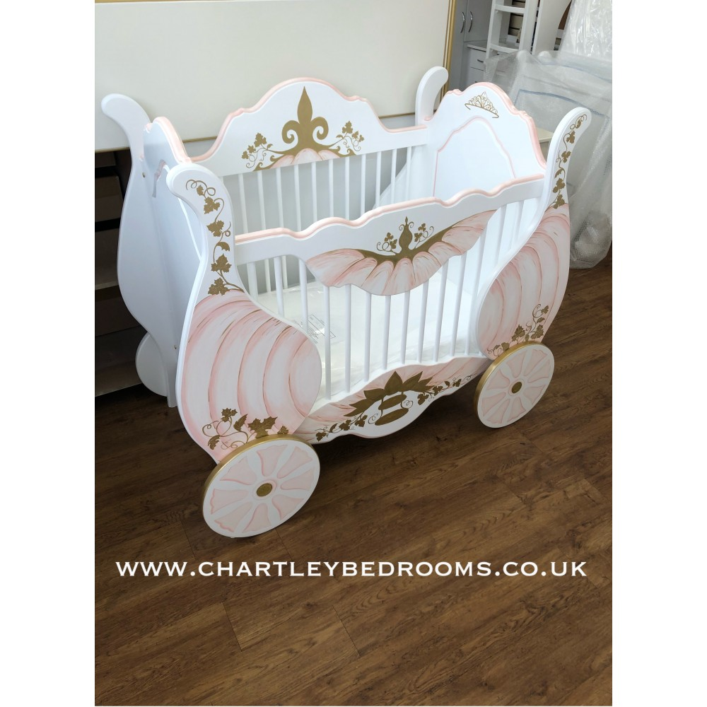 Stunning Princess Carriage Cots Showroom Open 7 Days