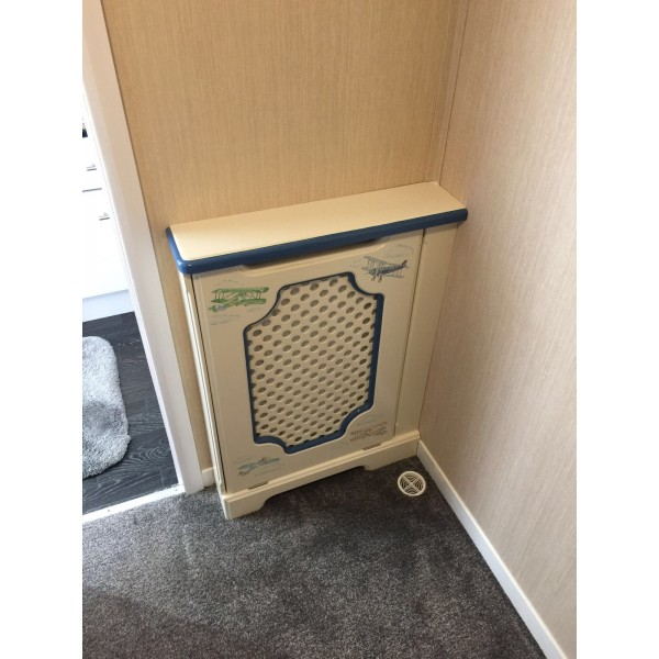 Small Radiator Cabinet With Infill Panel
