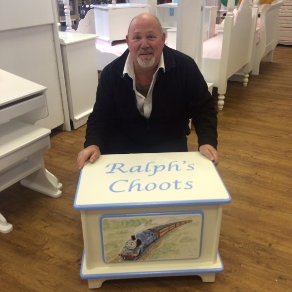 Personalised Toy Box For Ralph