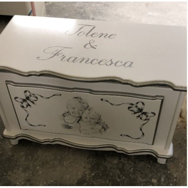 Sketched Double Portrait Box Personalised