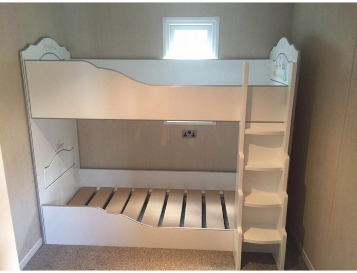 bunk beds miniature for small room or chalet