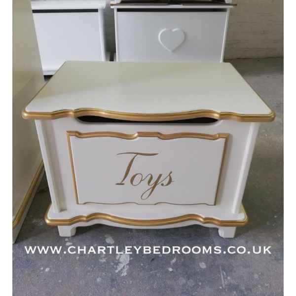 Small 2ft Childs Toy Box Can Be Personalised