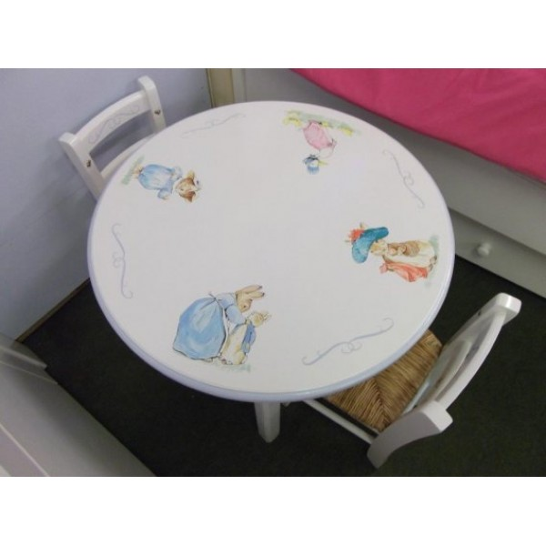 Beatrix Potter Table & Chairs For Toddlers