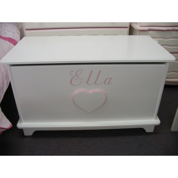 Toybox 3ft Plain With Heart & Name