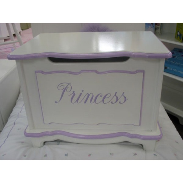 Personalised Small Fancy Style Toy Box