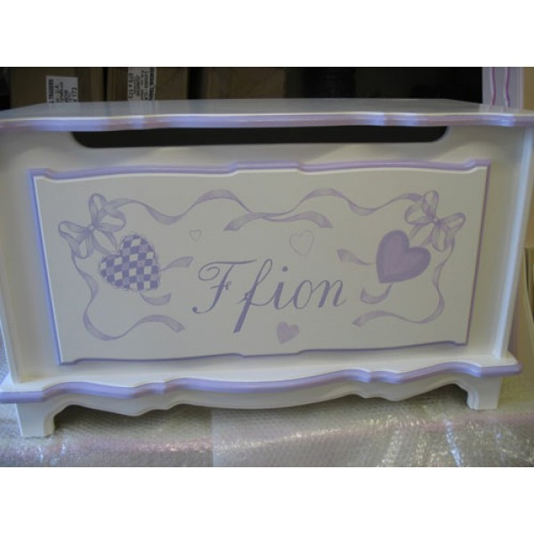 Toybox 3ft Fancy Gingham Hearts