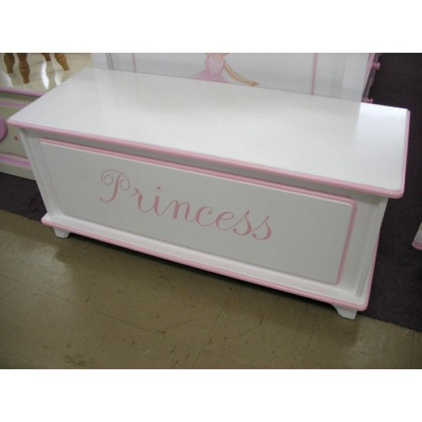 Toybox 4ft Plain With Name Princess