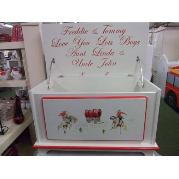 Toybox 3ft With Personalised Inscription