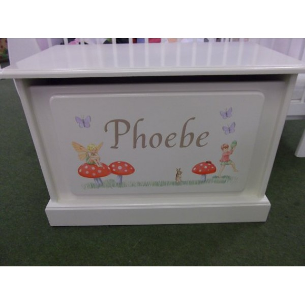 Toybox 2ft6 Solid Skirting Phoebe's First Toy Box